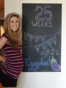 25 Week Baby Bump